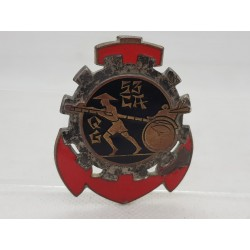INSIGNE MILITAIRE 53 COMPAGNIE AUTO TRAIN QUARTIER GENERAL DRAGO