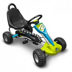 GO KART A PEDALES SKIDS CONTROL STAMP BOITE ABIMEE