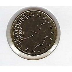 Luxembourg 2002 50 CENTIMES SUP