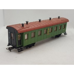 WAGON VOITURE VOYAGEUR RUSSE TYPE FLECHE ROUGE EXPRESS