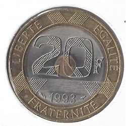 20 FRANCS MONT ST MICHEL 1993 SUP-