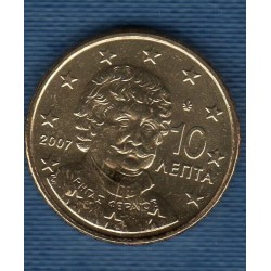 GRECE 2007 10 CENTIMES SUP