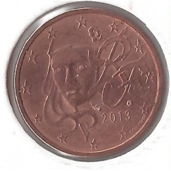 France 2013 2 CENTIMES