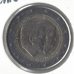 HOLLANDE 2 EURO COMMEMORATIVE 2014