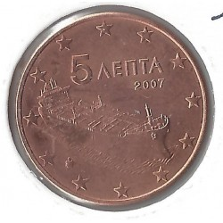 GRECE 5 CENTIMES 2007 SUP