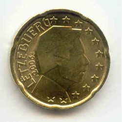 Luxembourg 2006 20 CENTIMES...