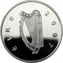 Irlande 2007 PROOF 10 EURO OR