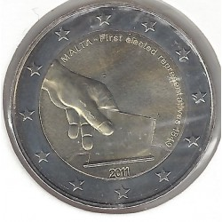 MALTE 2011 2uro COMMEMORATIVE