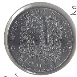 PORTUGAL 2016  5 EURO MODERNISMO PORTUGUES SUP