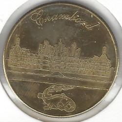 MEDAILLE DE COLLECTION 41 CHAMBORD LE CHATEAU (type 2) SUP