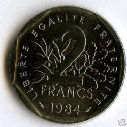 FRANCE 2 FRANCS ROTY 1984 FDC