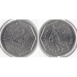 FRANCE 2 FRANCS ROTY 1985...