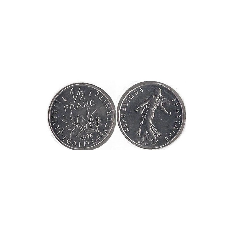 50 CENTIMES ROTY 1986 SUP
