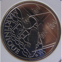 France 2010 10 EURO REGION MARTINIQUE