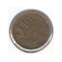 FRANCE 10 FRANCS GUIRAUD...