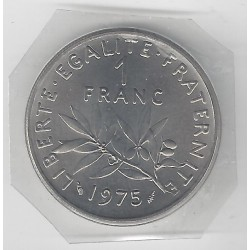 1 FRANC ROTY 1975 FDC