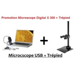 MICROSCOPE  DIGITAL USB 5 MEGA PIXELS + TREPIED 354396