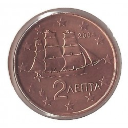 GRECE 2004 2 CENTIMES  SUP