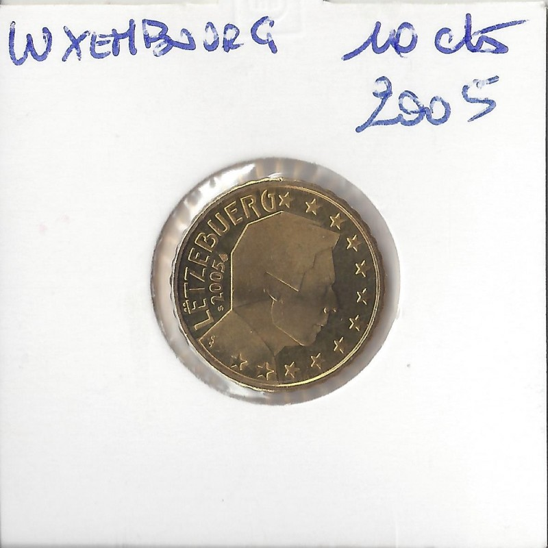 Luxembourg 2005 10 CENTIMES SUP