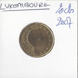 Luxembourg 2007 20 CENTIMES SUP