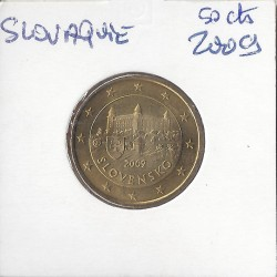 SLOVAQUIE 2009 50 CENTIMES SUP-