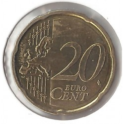 CHYPRE 2009 20 CENTIMES SUP