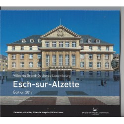 ESPAGNE 2016 Coffret BU 1 Cent à 2 Euro + 2 Euro Commémorative SEGOVIE World Money Fair