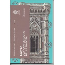 SAINT MARIN 2017 2 Euro Commemorative GIOTTO  BU
