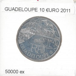 France 2011 10 EURO REGION GUADELOUPE