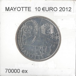 France 2012 10 EURO REGION MAYOTTE