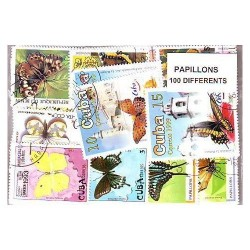 TIMBRES PAPILLONS (Yvert)