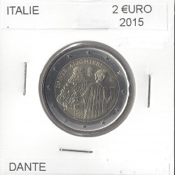 ITALIE 2015 2 EURO COMMEMORATIVE DANTE SUP