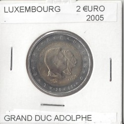 LUXEMBOURG 2005 2 EURO COMMEMORATIVE GRAND DUC ADOLPHE SUP