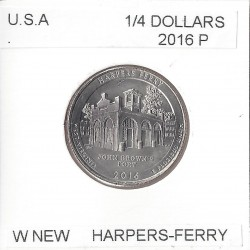 AMERIQUE (U.S.A) 1/4 DOLLAR 2016 P HARPERS FERRY SUP