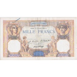 FRANCE 1000 FRANCS CERES ET...