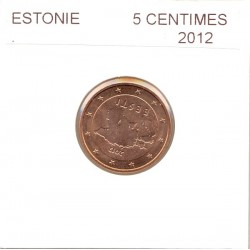 ESTONIE 2012 2 CENTIMES  SUP