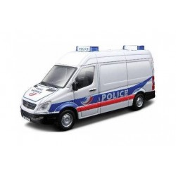 BBurago 1/55 MERCEDES SPRINTER POLICE NATIONALE EMERGENCY