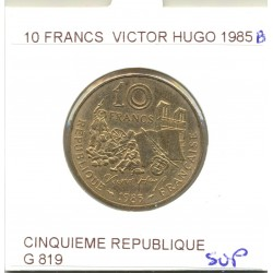 10 FRANCS V. HUGO 1985 B SUP