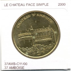 37 AMBOISE LE CHATEAU FACE SIMPLE 2000 SUP