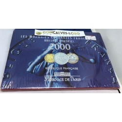 FRANCE 2000 COFFRET (BU) BRILLANT UNIVERSEL EN FRANC