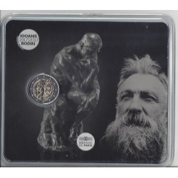 FRANCE 2017 2 EURO Commemorative RODIN Etat  B.U