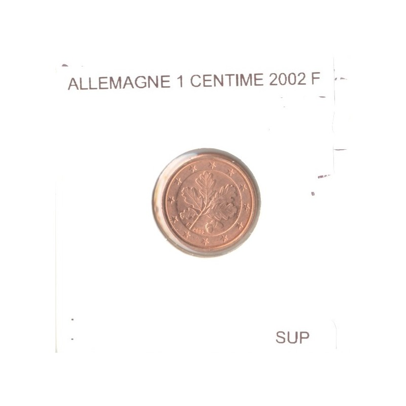 Allemagne 2002 F 1 CENTIME SUP
