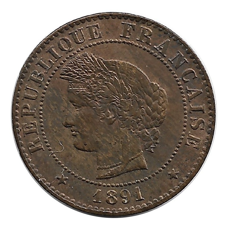 FRANCE 1 CENTIME CERES 1891 A SUP