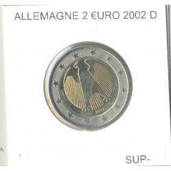Allemagne 2002 D 2 EURO SUP-