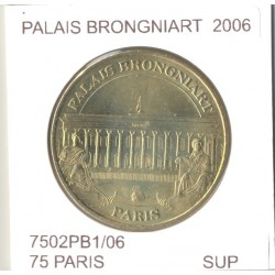 75 PARIS PALAIS BRONGNIART 2006 SUP