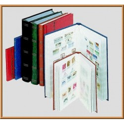 CLASSEUR TIMBRES 64 PAGES...
