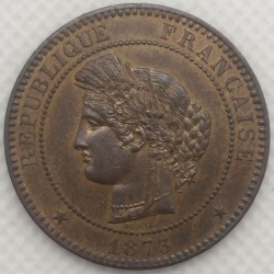 FRANCE 10 CENTIMES CERES 1873 A SUP+