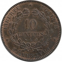 FRANCE 10 CENTIMES CERES 1898 A SUP+