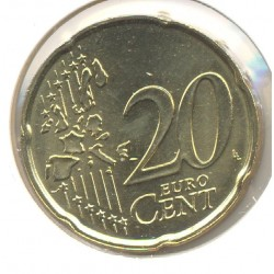 FRANCE 1999 20 CENTIMES EURO SUP-