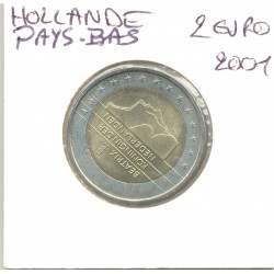 HOLLANDE (PAYS-BAS) 2001 2 EURO SUP-